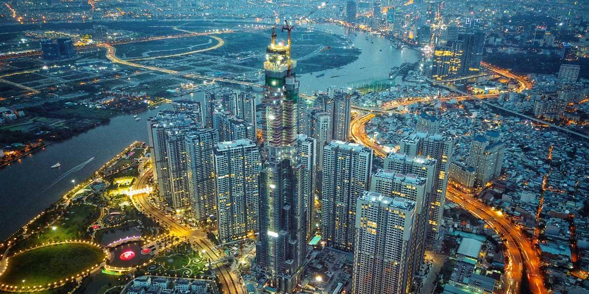 Das Projekt zum Bau des Wolkenkratzers wurde an das vietnamesische Bauunternehmen Coteccons vergeben.