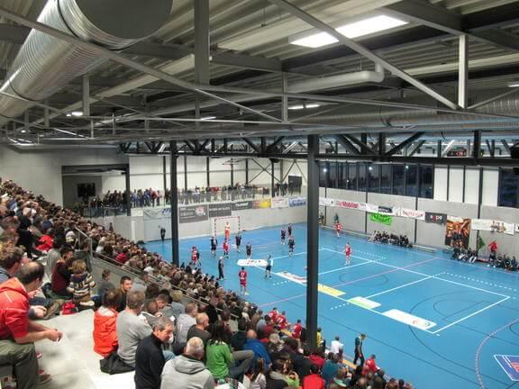 Das Multifunktionssportzentrum GoEasy wurde Anfang 2016 fertiggestellt.