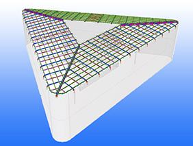 Architektonisches Highlight ist die Stahlkonstruktion des Zentraldachs der Thier-Galerie.