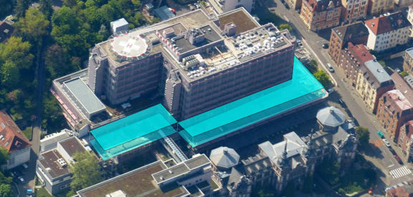 Bei Umbau und Erweiterung des Marienhospitals in Stuttgart war das Ingenieurbüro Boll und Partner beteiligt.
