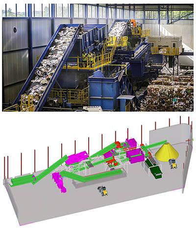 Sutco gehört zu den größten Herstellern von Aufbereitungsanlagen für die Abfallindustrie.