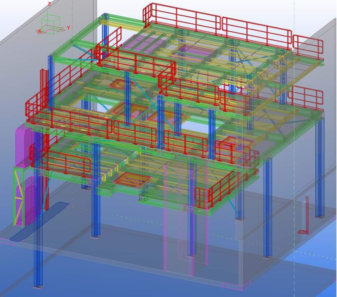 Ingenieurbüro Kapitanov: Bühne für Kapazitätenerweiterung einer Gießerei