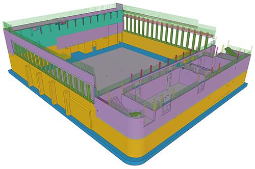 Das Tekla-3D-Modell steht bei Ingenieurbüro 3Ki im Mittelpunkt.