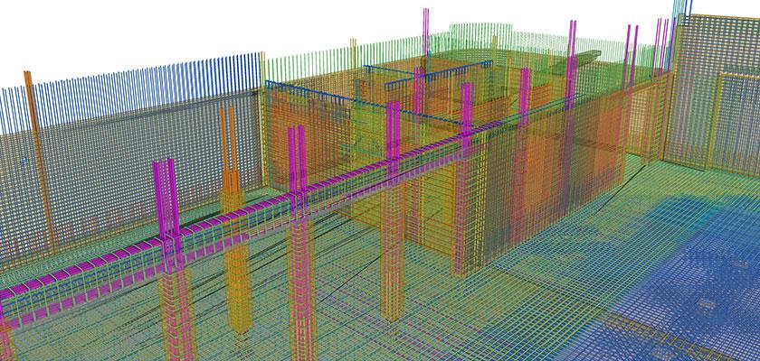 Bewehrungsplanung in Tekla Structures