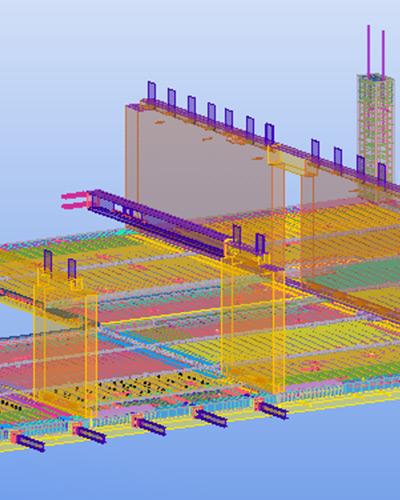 Brüninghoff setzt die 3D-Software Tekla Structures auch für die Bewehrung von Betonfertigteilen ein.