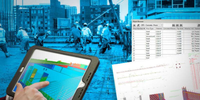 Prozesse optimieren und Risiken minieren mit Tekla-BIM-Software im Massivbau