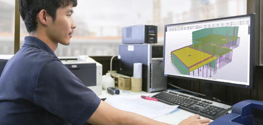 Ausführungsreife Betonmodelle beinhalten alle Informationen, von Betonierabschnitten über die Betonrezeptur bis zur Schalung.