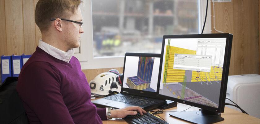 Modellbasierte Softwarelösungen helfen, exakte Betonmengen zu ermitteln - und das schneller, zuverlässiger und mit weniger Aufwand.