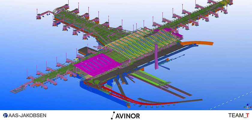 Aas-Jakobsen: Das Tragwerksmodell des Terminals 2