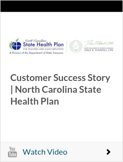 Customer Success Story | North Carolina State Health Plan