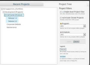 project tree