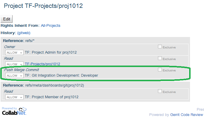 Grant cross repo access to TeamForge project role