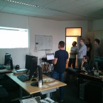 Collabnet demo during Gerrit Hackathon