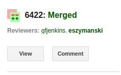 Gerrit Gmail Plugin - Change Merged