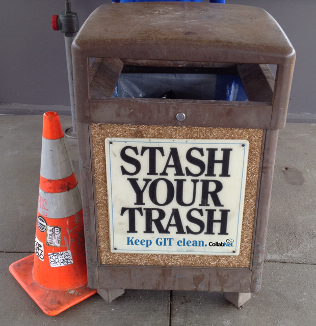 Stash your Trash - Keep GIT clean - CollabNet