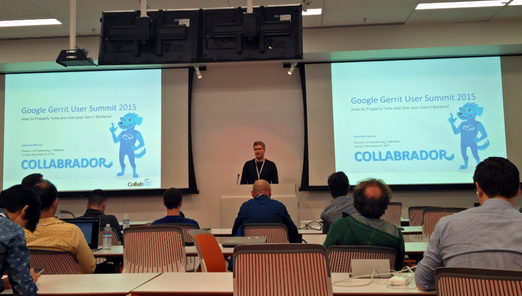 Johannes Nicolai @ Gerrit User Summit