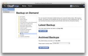 Subversion Cloud Backups Restore