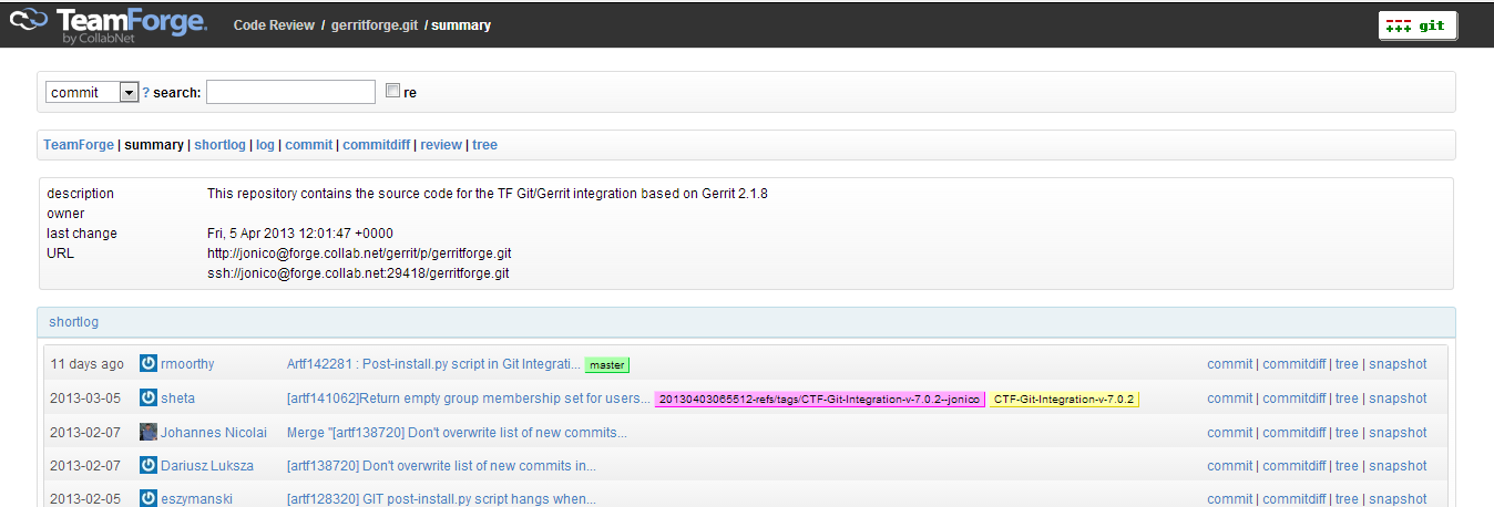 New Look and Feel for our Git Repo Browser