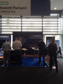 CollabNet at DOES 2017 in London.