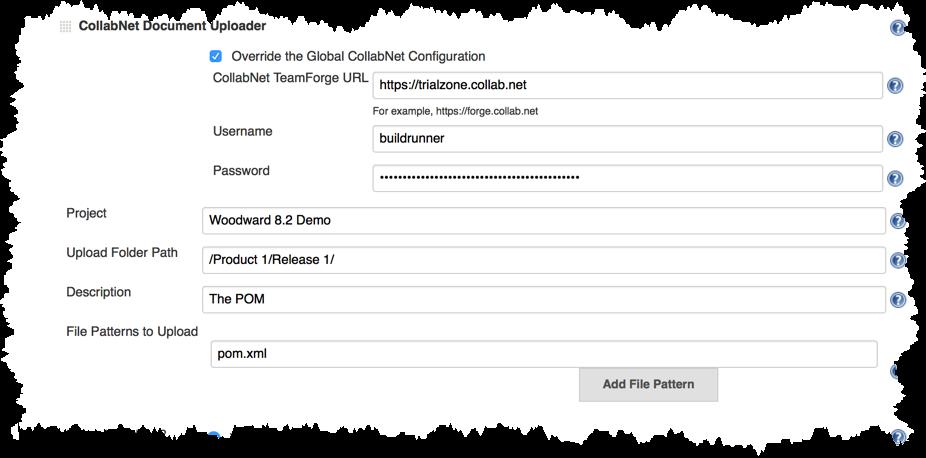 Document Uploader Settings