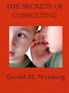 weinberg secrets of consulting