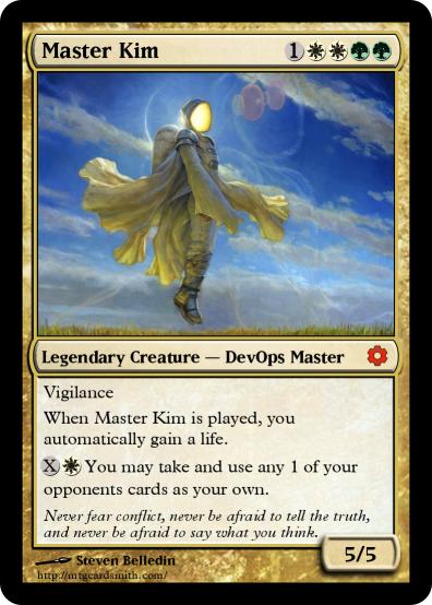 Master Kim