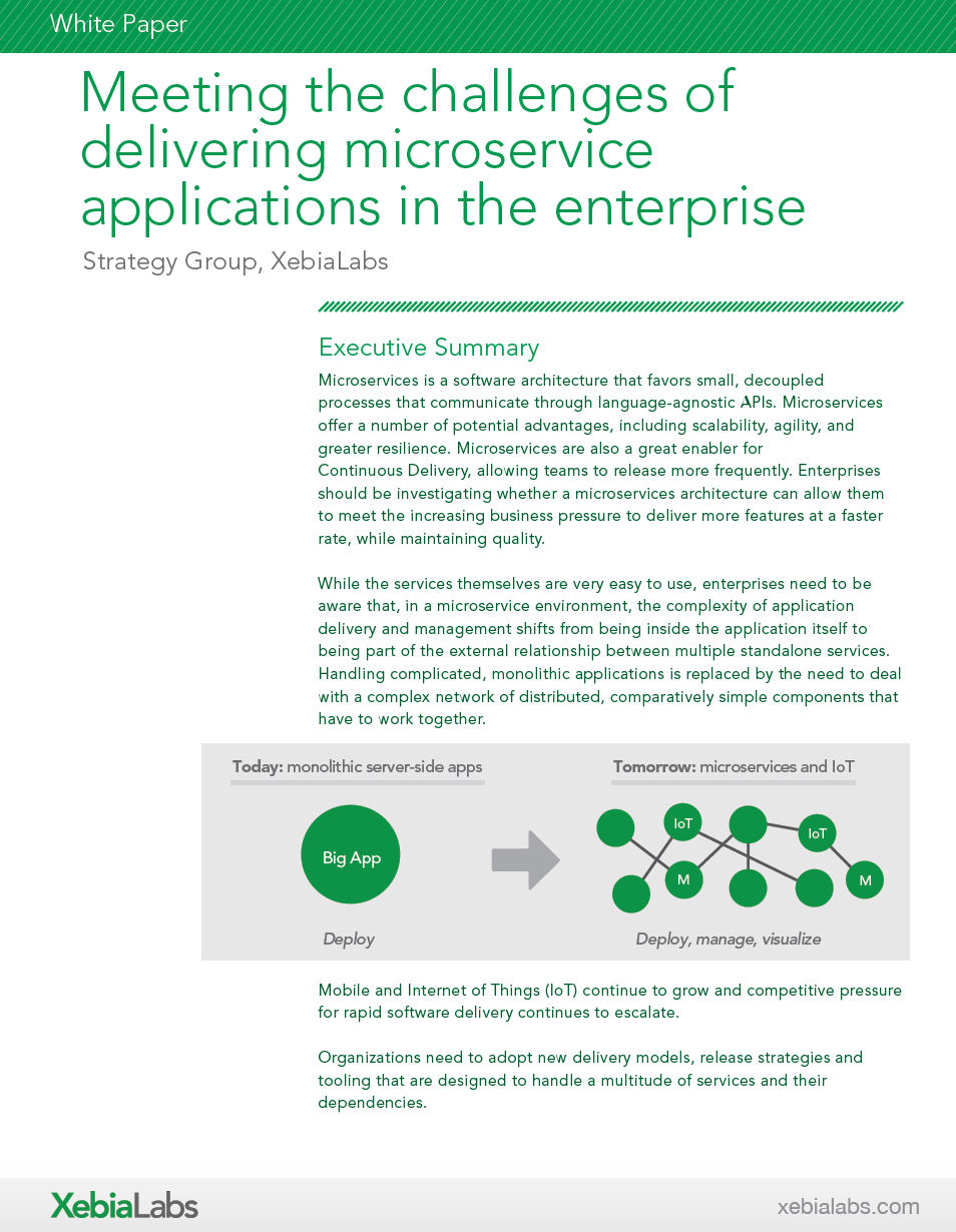Meeting the Challenges of Delivering Microservice Applications in the Enterprise