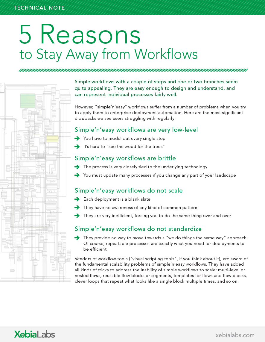5 Reasons To Stay Away from Workflows - KLP