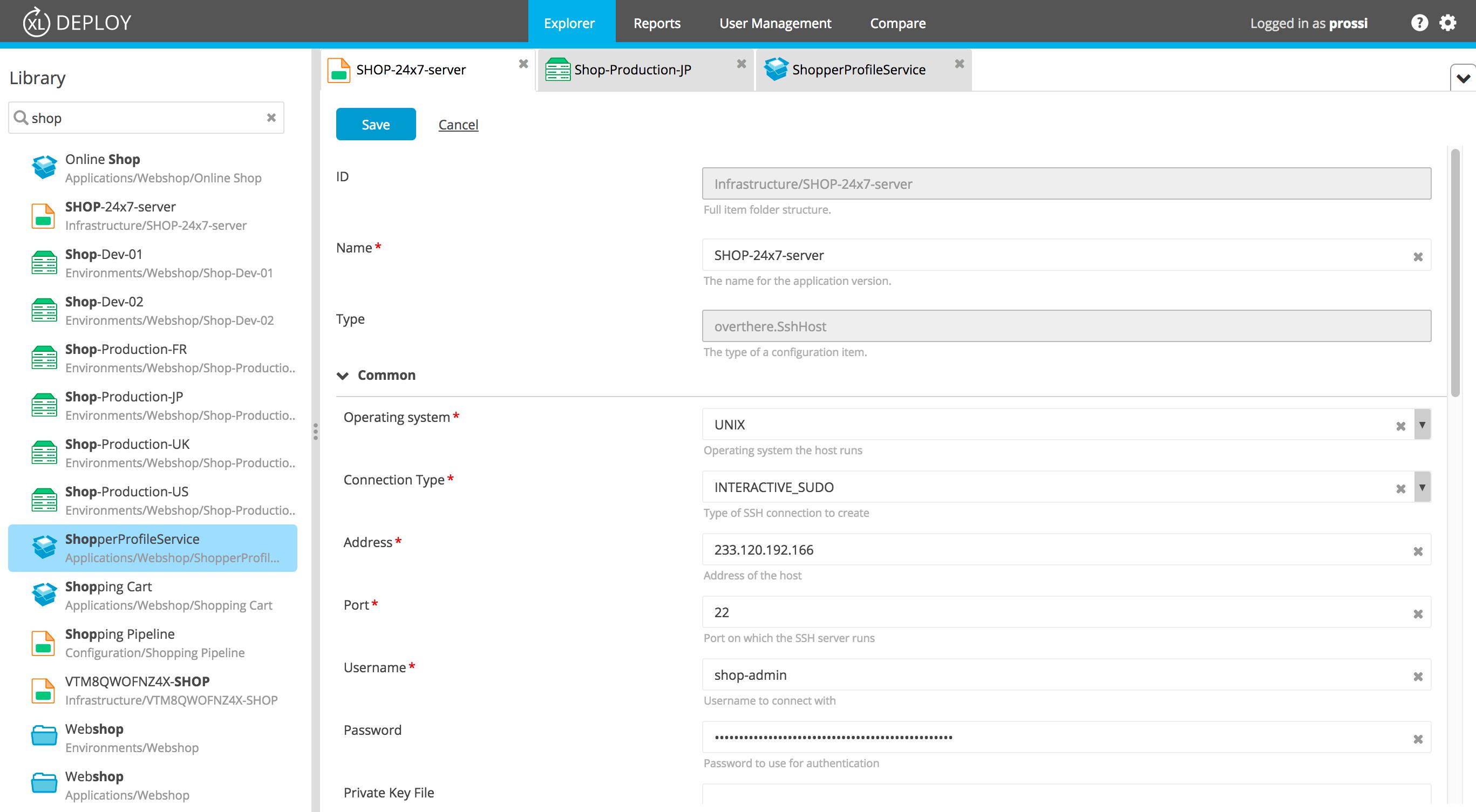 XL Deploy v7.0 Configuration Management
