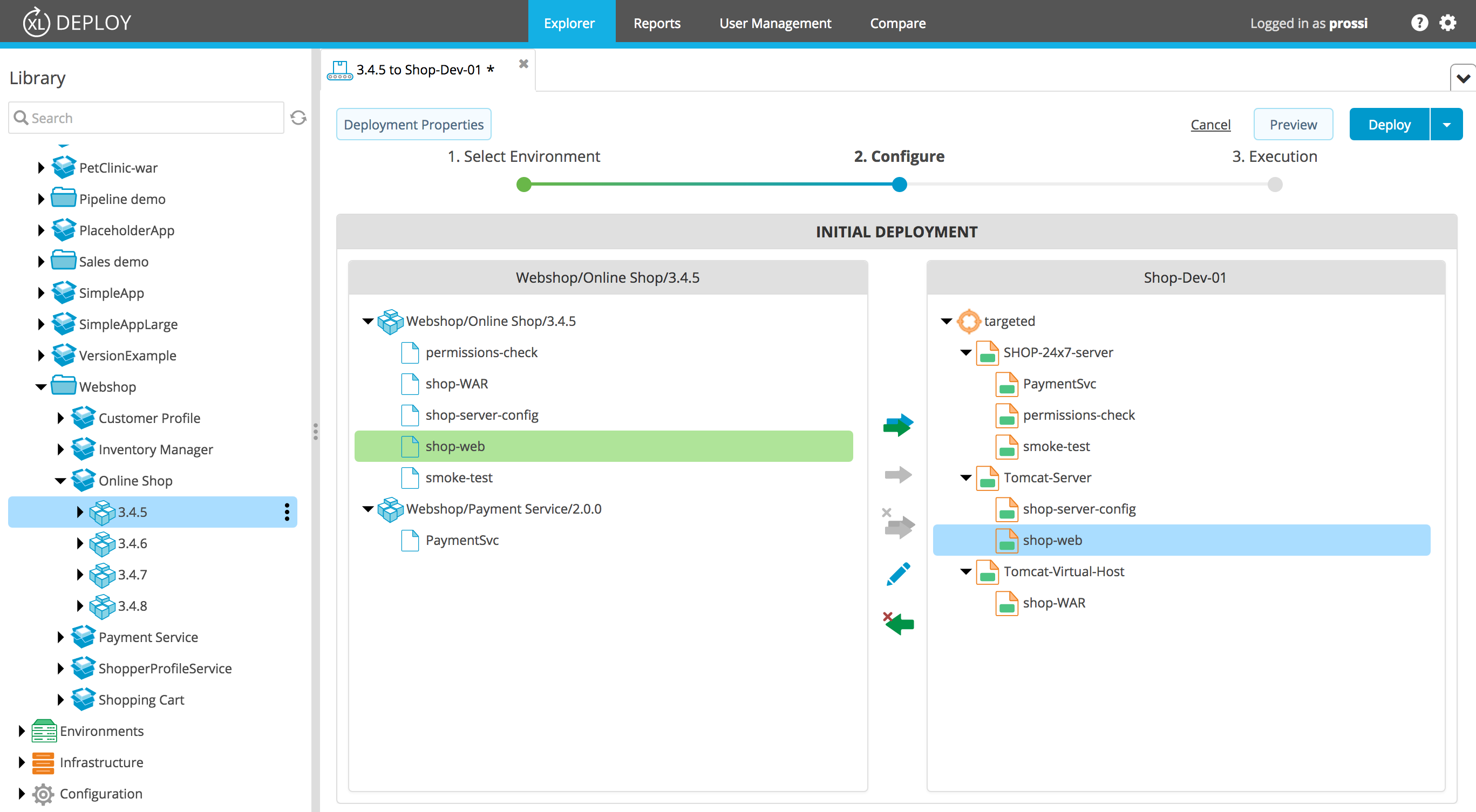 XL Deploy v7.0 Deployment Mappings