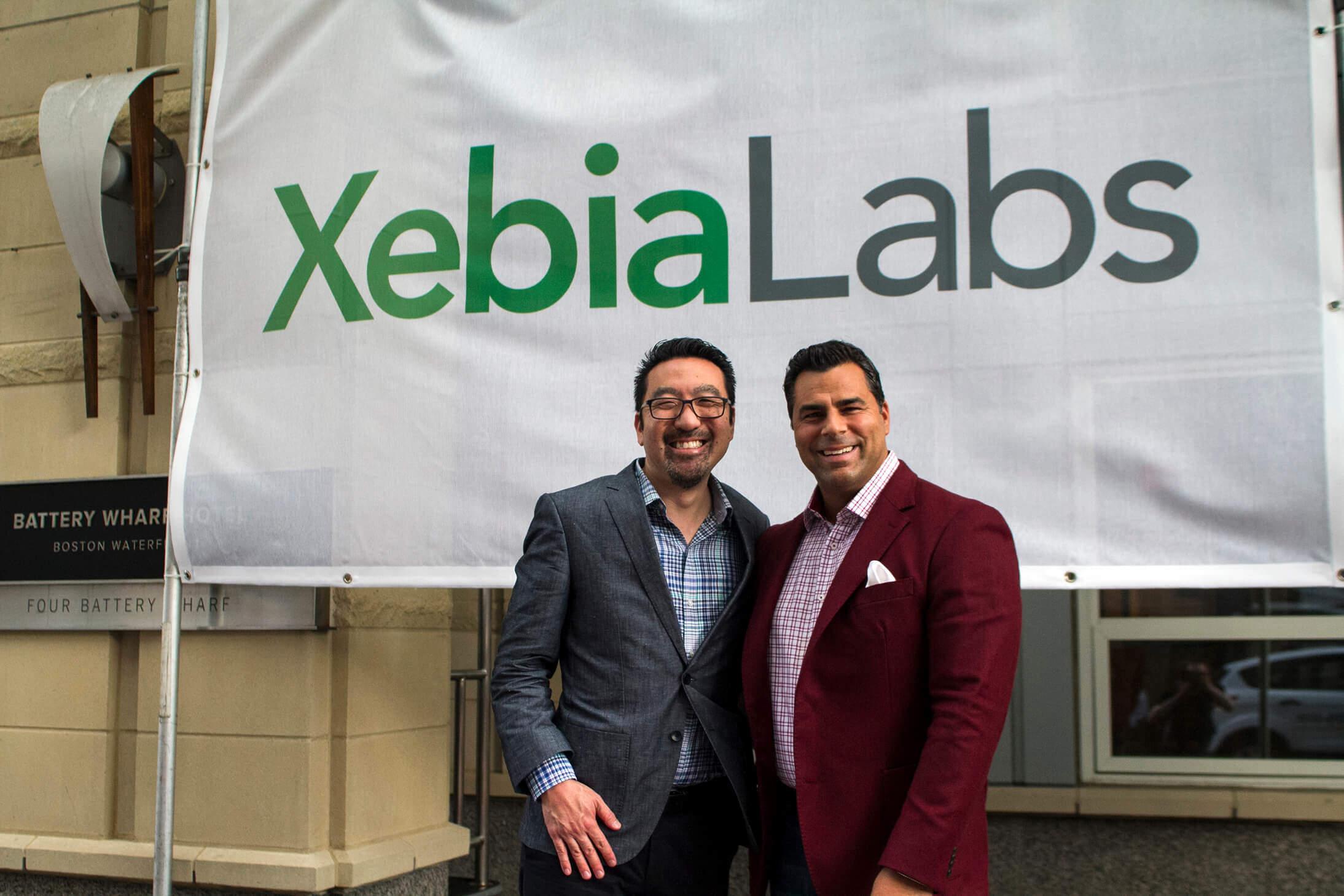 Gene Kim and Derek Langone at the XebiaLabs DevOps Leadership Summit