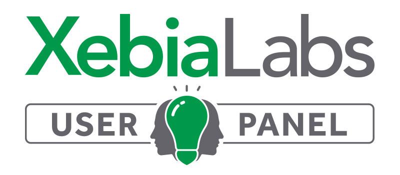 XebiaLabs User Panel
