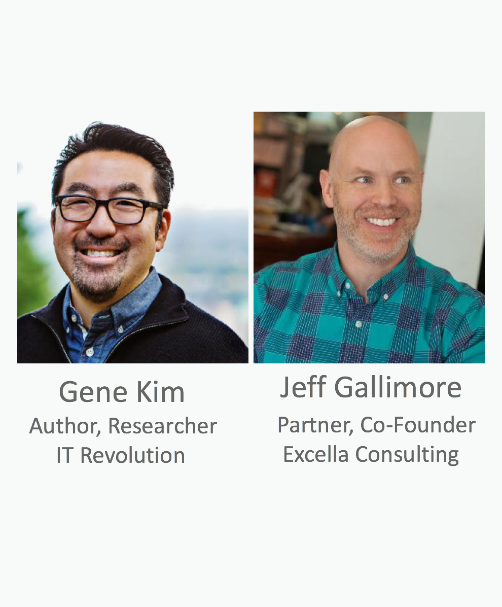 Gene Kim and Jeff Gallimore
