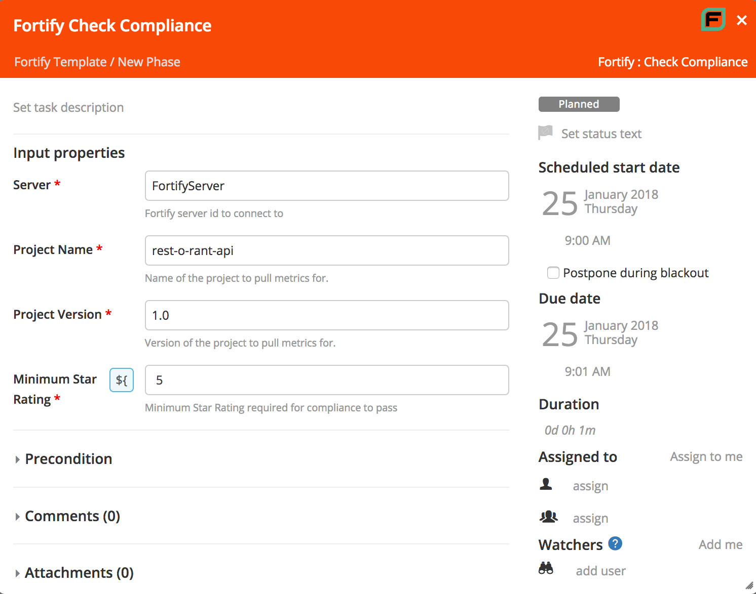 Fortify SSC Check Compliance