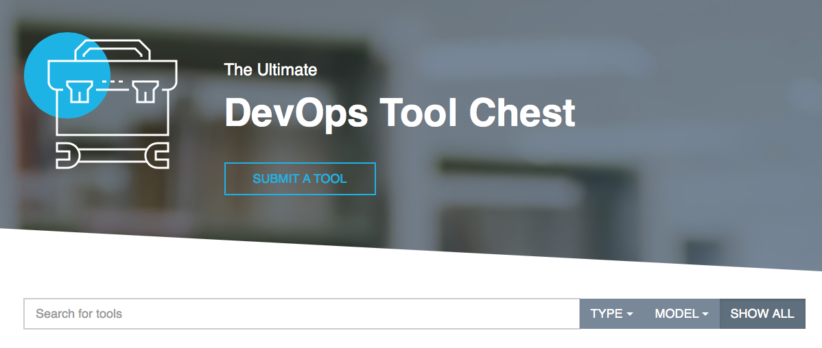 The XebiaLabs Ultimate DevOps Tool Chest - submit a tool for consideration for the Periodic Table of DevOps, version 3