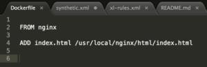 Docker file