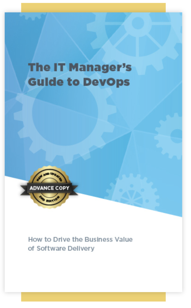 The IT Manager's Guide to DevOps Cover
