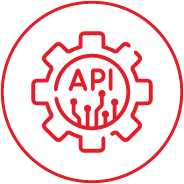 Find a third-party provider with proven API integration
