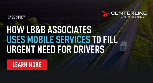 How LB&B Associates uses mobile services to fill urgent need for drivers case study