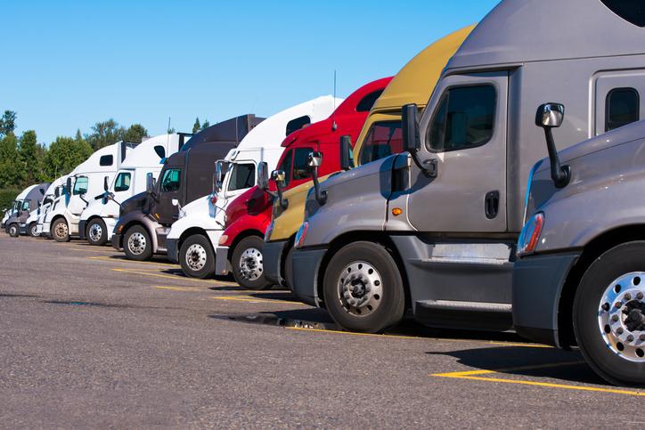 Trucks with sleeper berths