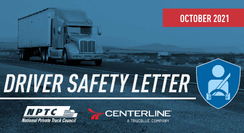 NPTC Safety Article - October 2021- Avoid Deer Strikes and Accidents