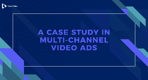 A Case Study in Multi-Channel Video Ads