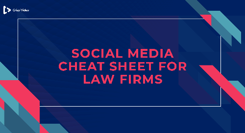 Social Media Cheat Sheet For Law Firms