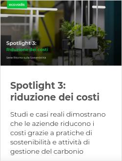 Spotlight 3: riduzione dei costi