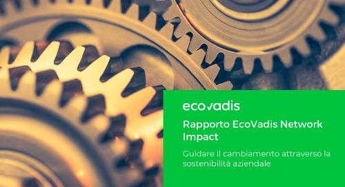 Rapporto EcoVadis Network Impact