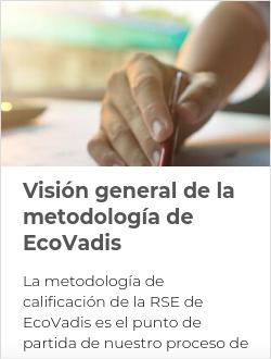 Visión general de la metodología de EcoVadis