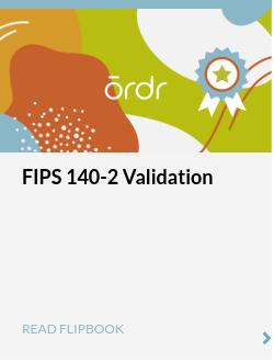 FIPS 140-2 Validation