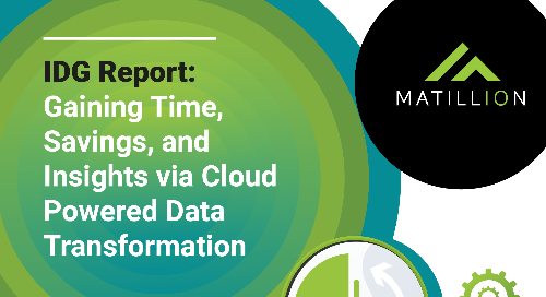 Gaining Time, Savings, and Insights via Cloud-Powered Data Transformation