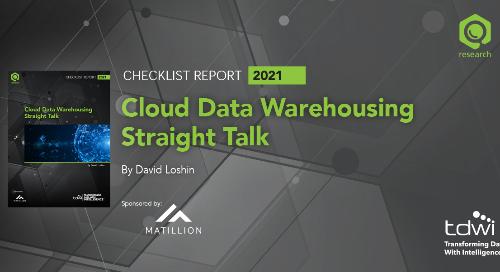 TDWI Checklist Report: Cloud Data Warehousing