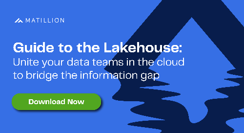 Guide to the Lakehouse: Unite your data teams in the cloud to bridge the information gap